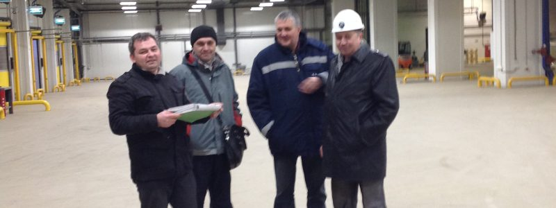 Реконструкция дистрибьюторского центра, Домодедово, Мираторг