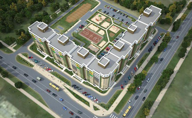 проекты многоэтажных зданий